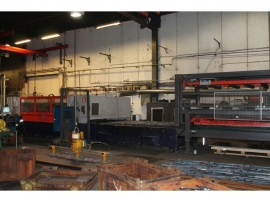 Laser cutting BYSTRONIC BYSTAR II 6000W (USED)