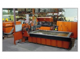 Waterjet cutting BYSTRONIC BYJET 3015-2 (USED)