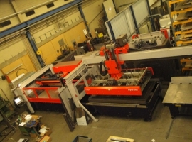 Laser cutting BYSTRONIC BYSTAR II 3015 4000W (USED)