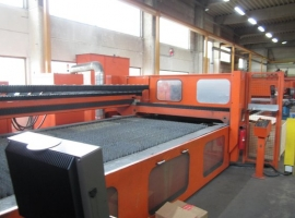Laser cutting BYSTRONIC BYSTAR 4020 + ROTARY AXIS (USED)