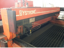 Laser cutting BYSTRONIC 3000 / 1500 (USED)