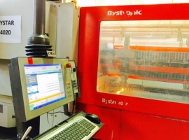 Laser cutting BYSTRONIC BYSTAR II 4020 4400W (USED)