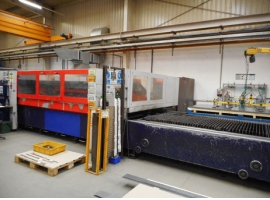 Laser cutting BYSTRONIC LASER BYSTAR 3015 (USED)