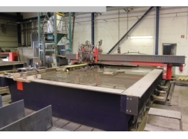 Waterjet cutting BYSTRONIC BYJETT L 4030 (USED)