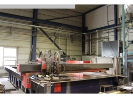 Waterjet cutting BYSTRONIC BYJETT L 6030 (USED)