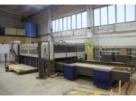 Waterjet cutting BYSTRONIC BYJET PRO 3015 (USED)