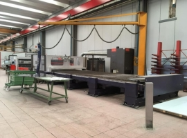 Laser cutting BYSTRONIC 6500X2500 (USED)